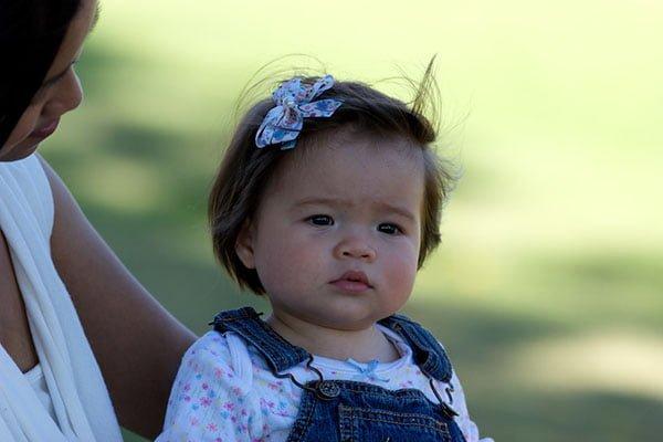 Donna's gorgeous daughter, Gemma. Image courtesy: Derek Stalley Photography