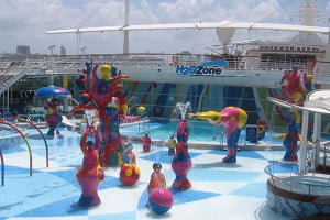 Water Play aboard the Royal Caribbean