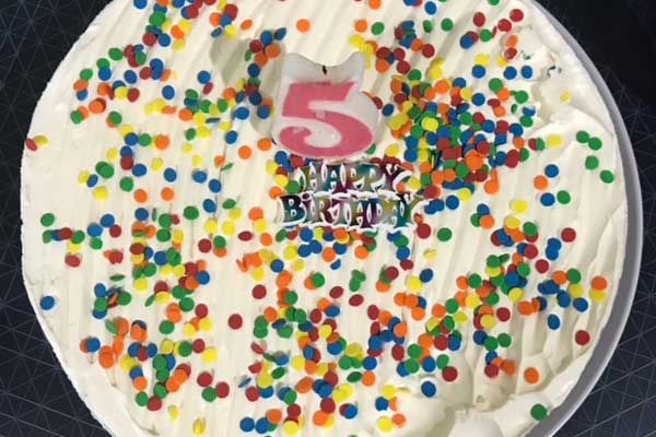 Wannabees Birthday Cake