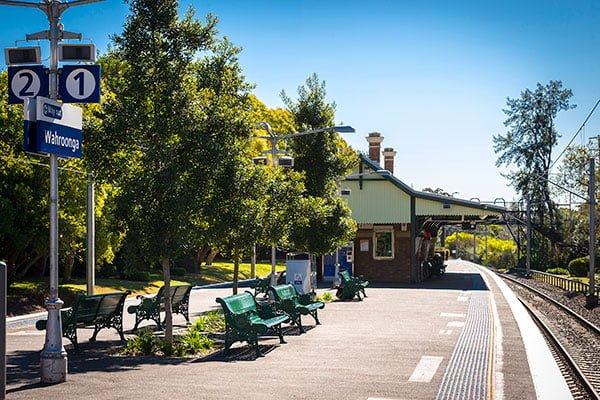 Wahroonga Railway Station