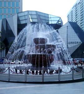 Golden Triangle in KL city centre