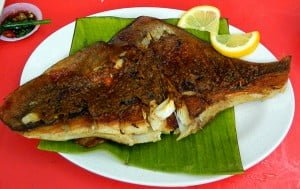 Anyone keen to try Grilled Stingray?