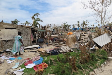 Homes were devasted, fresh food and water gone...