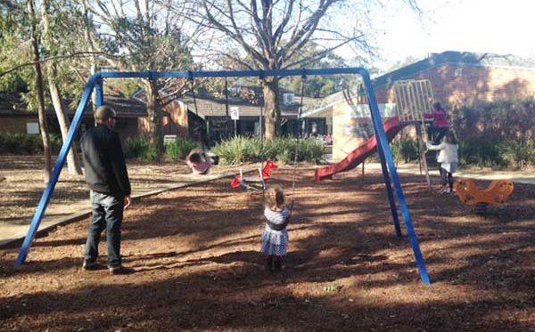 Playground near Philip Mall, West Pymble