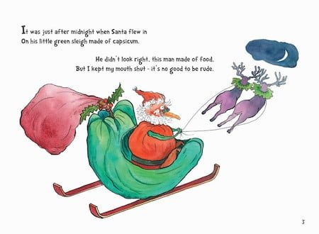 Festive vegies from the book.