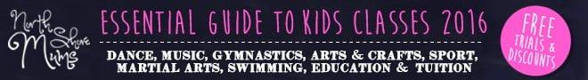 NSM Essential Guide to Kids Classes