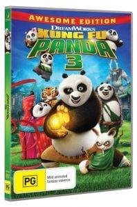 Kung Fu Panda 3 DVD Pack Shot