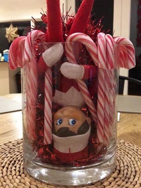 Elf in a glass
