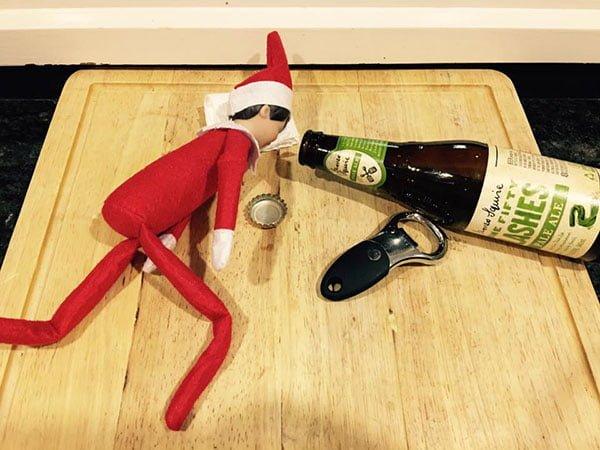 Kitchen Christmas Elf