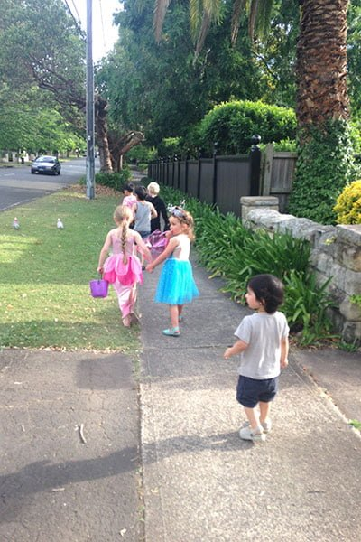Starting early in Wahroonga