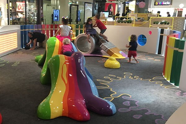 sydney shopping centres with play areas