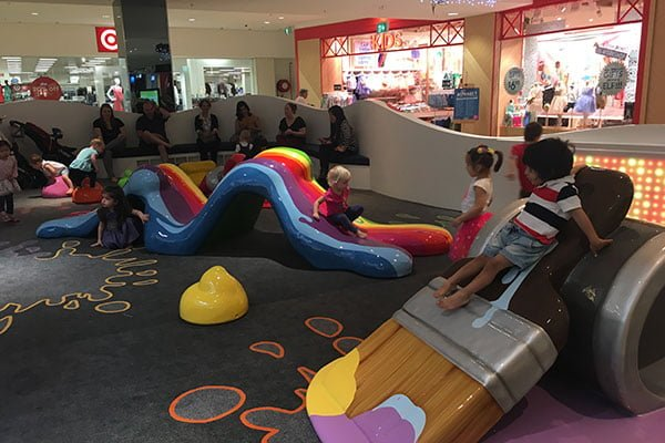 Play area at Macquarie Centre