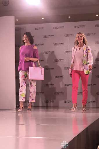 Florals in trousers and jackets are a fab way to update your wardrobe