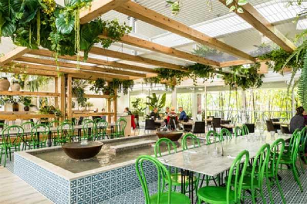Dragonfly Cafe at Eden Gardens