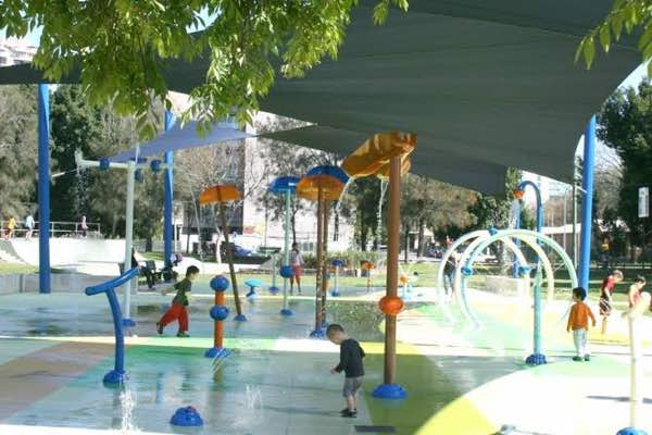James Ruse Reserve Water Playground