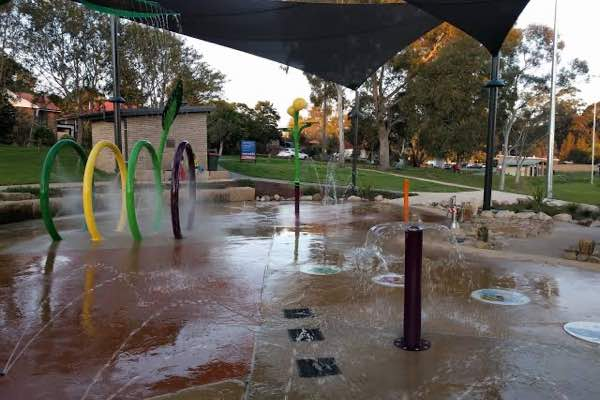 Philip Ruddock Water Playground, Dundas Park