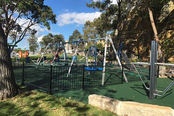 Kesteron Park, North Sydney Playground