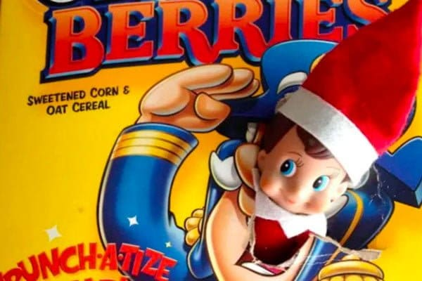 Elf on the Shelf Cereal