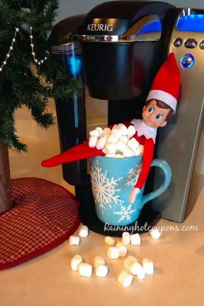 Elf in a cup