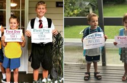 Winner announcement! First Day of School Photo Competition 2019