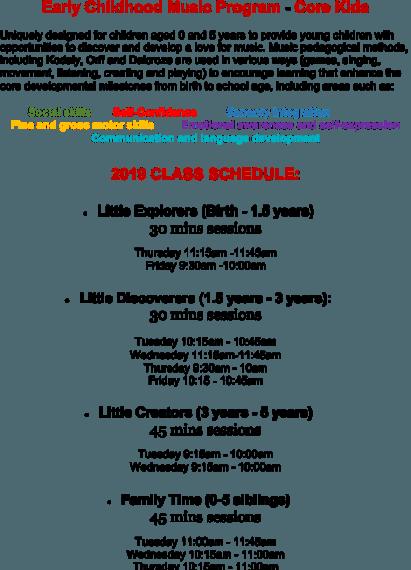 Core-Kids-Timetable