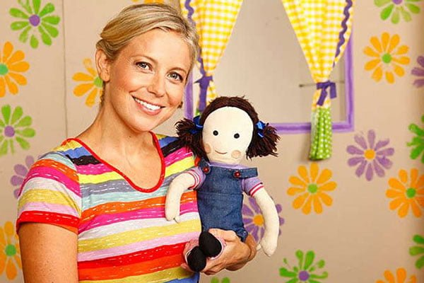 Rachael Coopes from Playschool