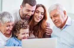 Kids use tech to easily save precious family stories