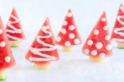 Watermelon Christmas Trees + FREE Recipe eBook