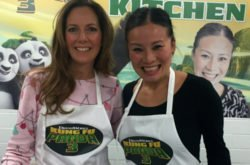 NSM gets cooking with Poh Ling Yeow - Kung Fu Panda Style!