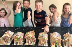 Festive fun! Gingerbread house making with Gingerbread Folk