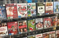christmas movie DVDs