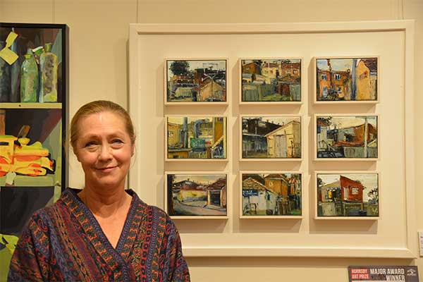 HORNSBY ART PRIZE LYNDALL BECK