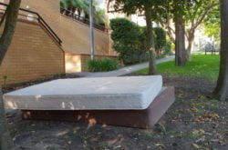 Have that old mattress removed (and recycled) for FREE
