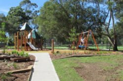 New playground! Morona Avenue Reserve, Wahroonga