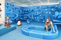 Indoor playcentre ball pit