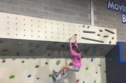 Kids conquer new Ninja Warrior course at Moving Bodies!