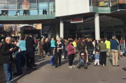 Hornsby Westfield Emergency Evacuation