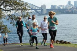 Family fun for all ages at this year's Run2Cure in the Domain