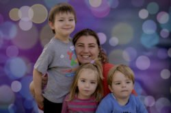 A North Shore mum's motivational journey of courage and strength...