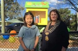 Read all about it! Communal street library opens in St Ives