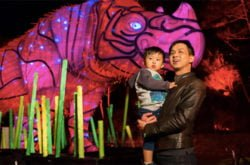 Top tips on keeping your children safe at Vivid Sydney 2019