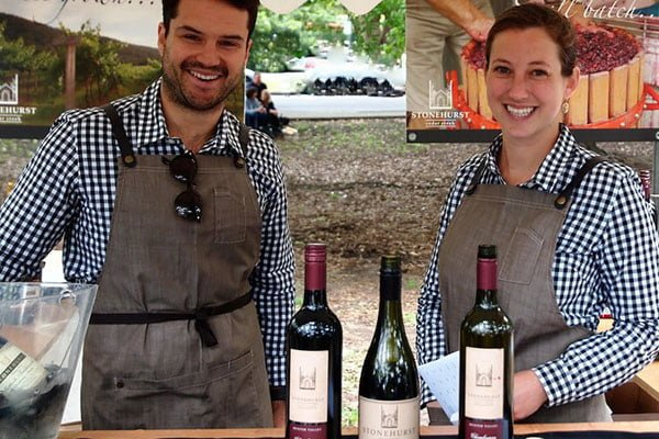 Wine makers at Wahroonga Food & Wine Festival