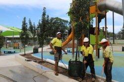 Yay! The brand new Waitara Playground is opening (very) soon...