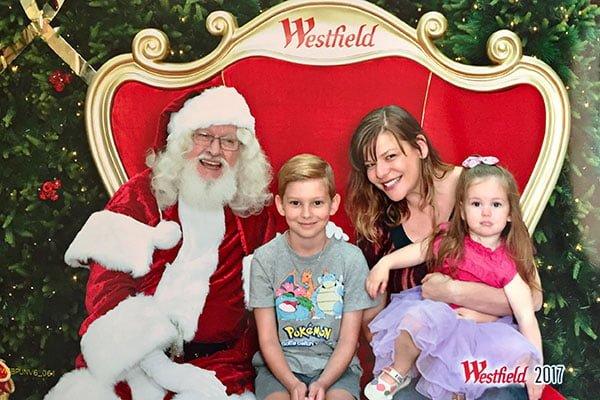 Santa Westfield Chatswood