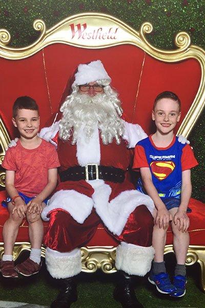 Santa Westfield Hornsby