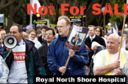 Please don't sell off the land at Royal North Shore Hospital!