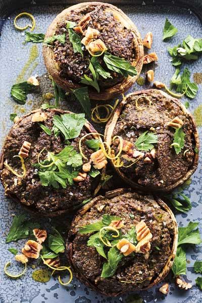 Organic mushroom meal