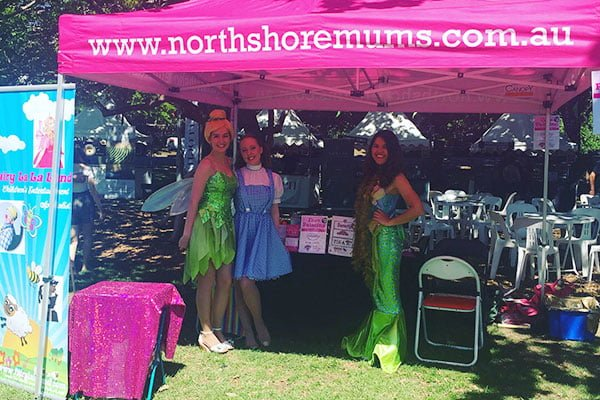 North Shore Mums Marquee Pink