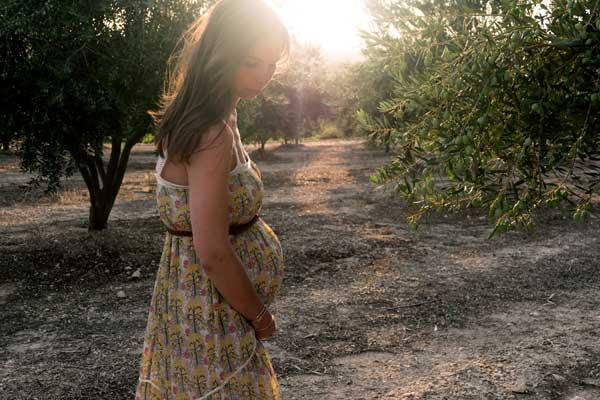 Pregnancy hair growth