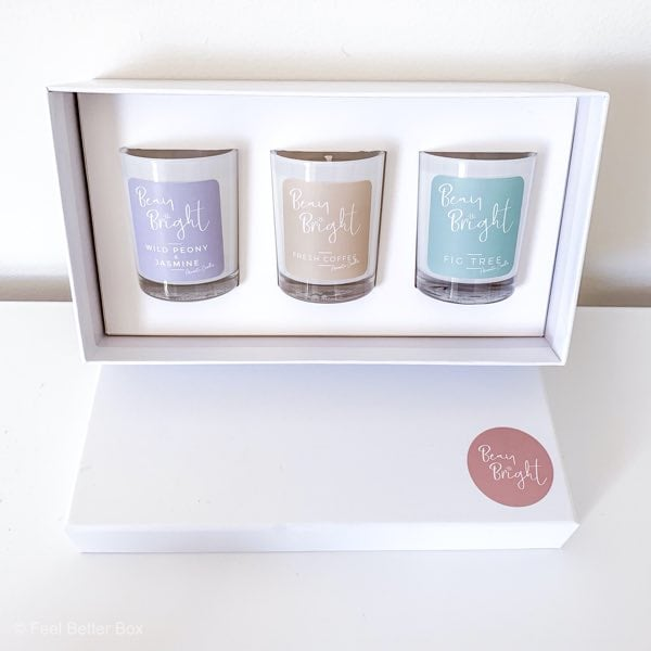 beau bright candle christmas gift